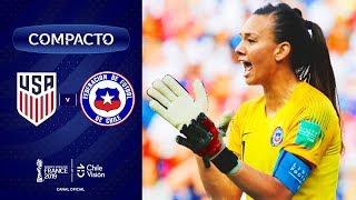 Estados Unidos vs. Chile | Copa Mundial Femenina de la FIFA Francia 2019