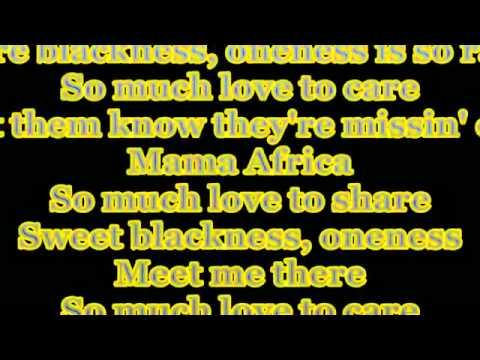 Akon - Mama Africa Lyrics