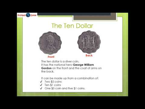 Identifying Jamaican Notes And Coins || PriMath Zoom