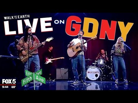 Walk off the Earth Perform Live on Good Day NY