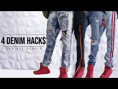 4 Denim Hacks. http://bit.ly/2zwnQ1x