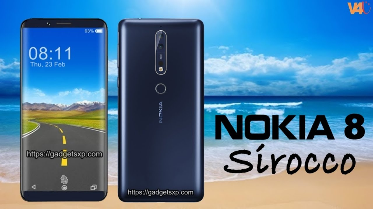 46a6a53cc Nokia 8 Sirocco First Look