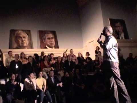 'war culture' the anti-war performance-------new york videodyssey(348)