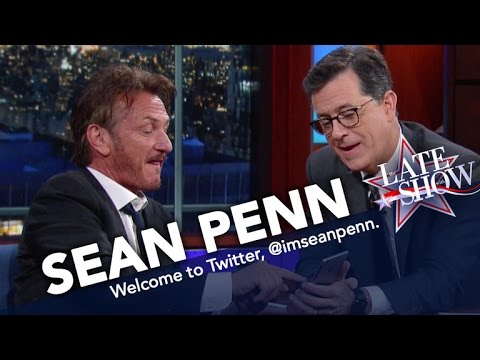 A Reluctant Sean Penn Agrees To Join Twitter
