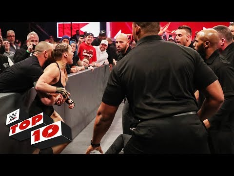 Top 10 Raw Moments: WWE Top 10, March 18, 2019