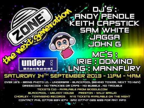 Zone @ Underbar, Blackpool 14th September 2013 - DJ John G