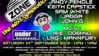 Zone @ Underbar, Blackpool 14th September 2013 - DJ John G