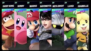 Super Smash Bros Ultimate Amiibo Fights Request #1526 Final Destination Brawl