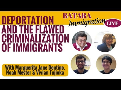 Deportation Policy: The Flawed Criminalization Of Immigration Reform (Immigration LIVE, Episode 7)
