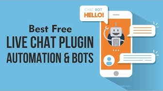 Best Free live Chat & Support Plugin with Automation & Bots - Tidio live chat WordPress