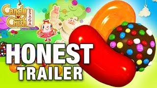 CANDY CRUSH SAGA (Honest Game Trailers) thumbnail