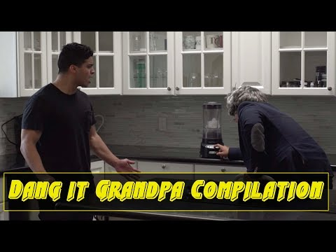 Dang it Grandpa Compilation | David Lopez
