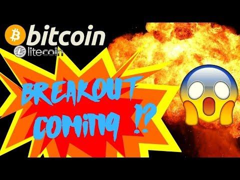 👀BITCOIN BREAKOUT COMING!?👀 bitcoin litecoin price prediction, analysis, news, trading