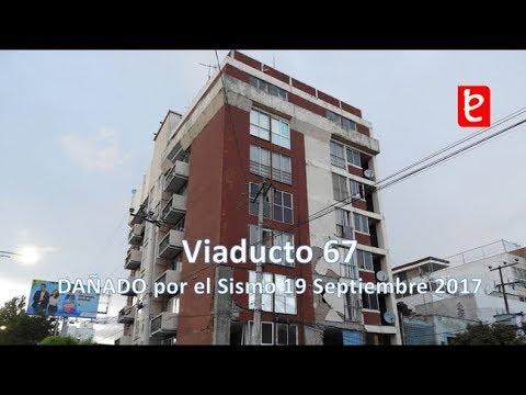 Daños en el Edificio Viaducto 67, CDMX (Sismo 19/09/17) | www.edemx.com