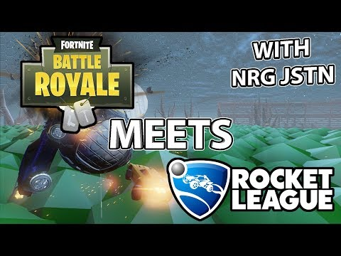 Fortnite Meets Rocket League? 1v1 Challenge with NRG Jstn thumbnail