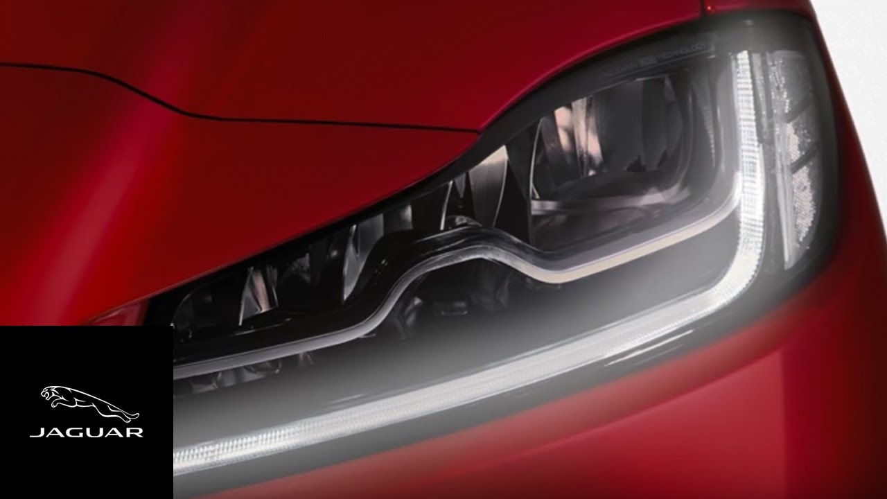 Jaguar F Pace 2017 Automatic Headlamps And Intelligent High Beam Light Laser Led Gt Circuits Traffic Lights For Games With Assist
