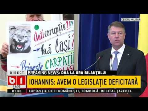 BILANT DNA 2016 - Klaus Iohannis