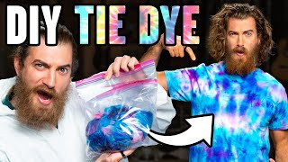 We Try Cotton Candy Tie-Dye