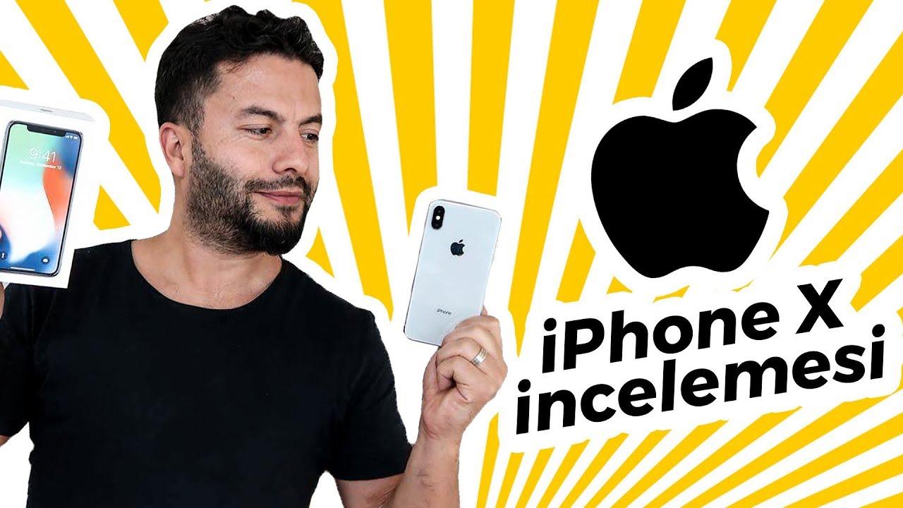 iPhone X İnceleme - Tamamen yeni kasası ve çerçevesiz ekranlı iPhone X