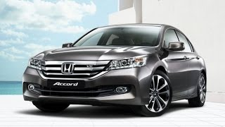Honda Accord ТЕСТ Драйв Обзор автомобиля