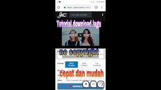 Tutorial download lagu cover YouTube no copyright
