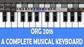 ORG 2019 | كاملة الموسيقية لوحة المفاتيح | لوحة المفاتيح التطبيق البنغالية مراجعة | الروبوت دينار بحريني التكنولوجيا