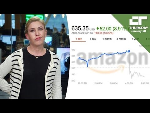 Amazon's Stock Down 13% Despite Best Revenue Quarter | Crunch Report