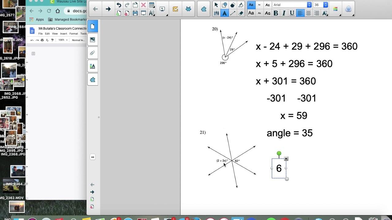 Angle Relationships Kuta Worksheet Explained