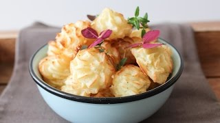 How To Make Baked Mashed Potato Bites - By One Kitchen Episode 158