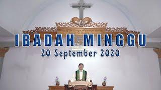 Ibadah Minggu Bulan Kitab Suci - 20 September 2020