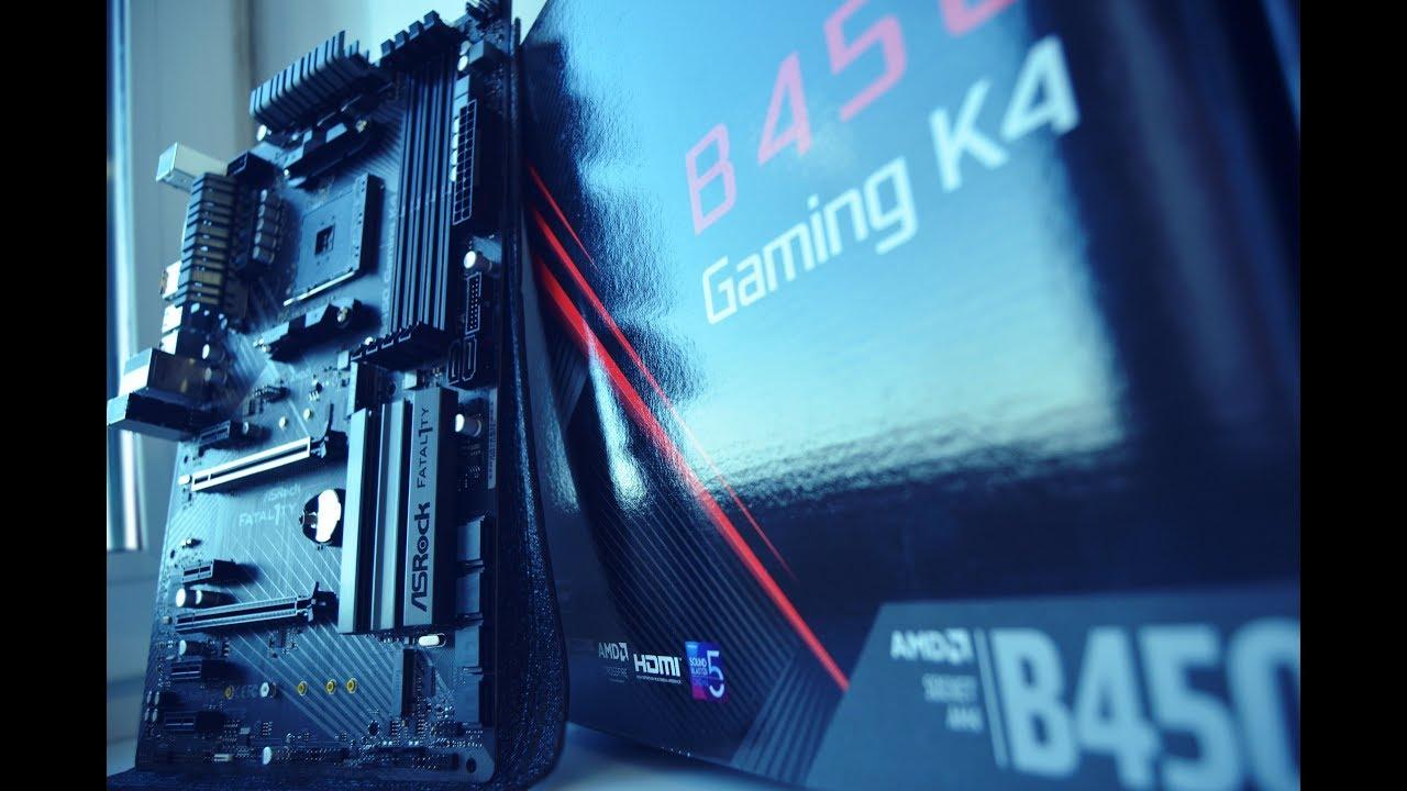 ASRock Fatal1ty B450 Gaming K4 | лучшая материнская плата цена/качество?