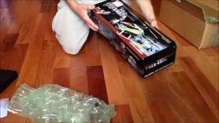 T-rex 450L Dominator Unboxing Video