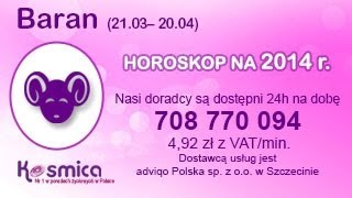 Horoskop na rok 2014 na Kosmica - Baran