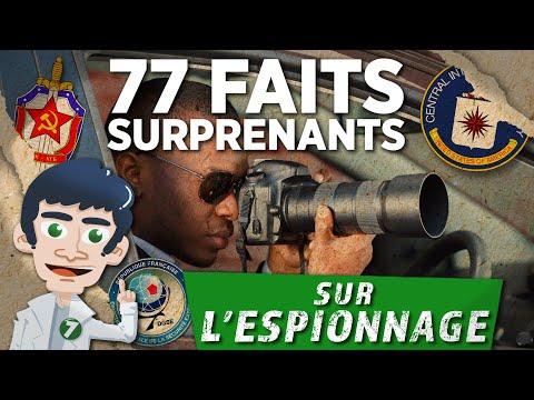 77 FAITS SURPRENANTS SUR L'ESPIONNAGE - DOC SEVEN
