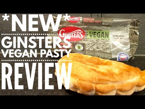 Ginsters Vegan Pasty Review