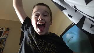 Giant Vampire Bat Attack! Wild Viscous Bat Toy Vs. Nerf Alphahawk!