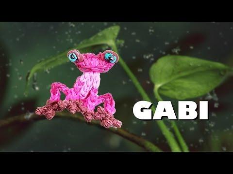 Rainbow Loom Animated Characters Series: Gabi from Rio 2 YouTube