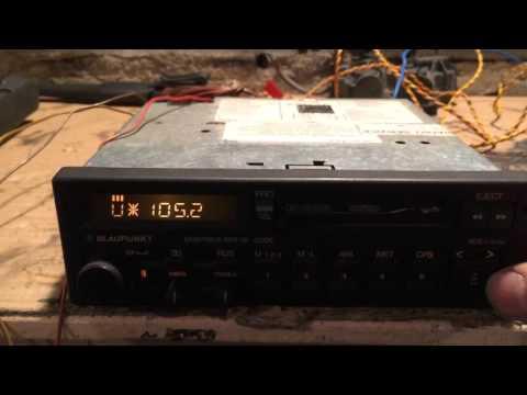 Blaupunkt Montreux RDR 49 TEST 2 - radio seek
