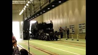 京都鉄道博物館シキ800特別展示入線