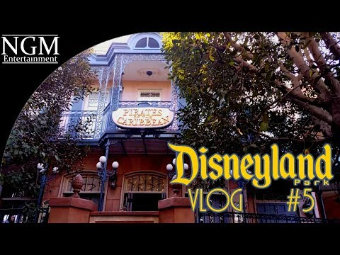 Disneyland Vlog #5 ~ 2018 | Pirates of the Caribbean | Town Square Construction!!