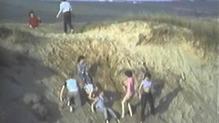 SAND DUNES!!! Perran Sands, Perranporth 1983