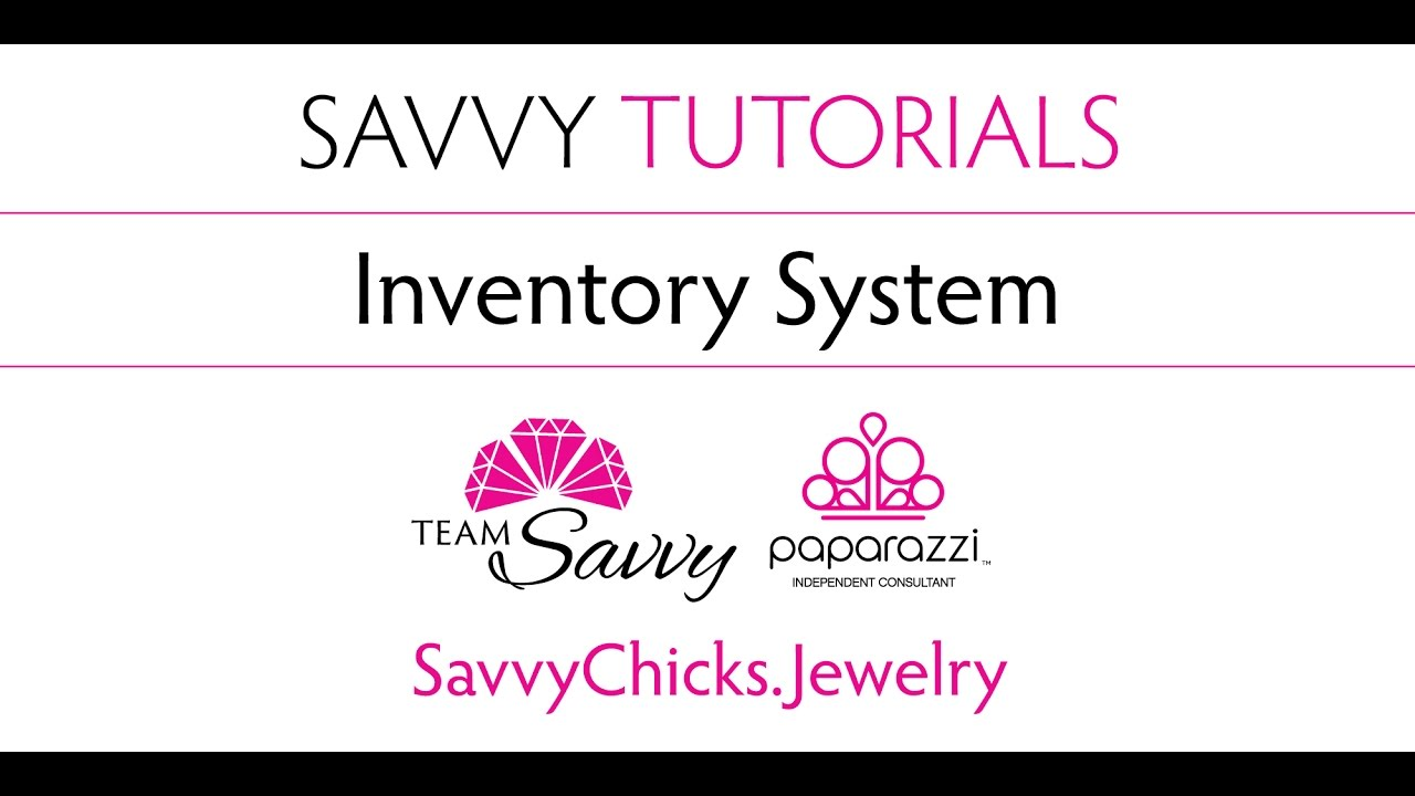 Inventory System For Paparazzi Jewelry Youtube