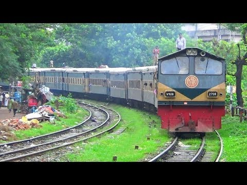 Compilation of Most Ugly Trains of Bangladesh Railway / Mail Train / Express Train