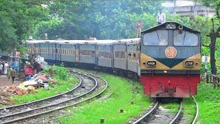 compilation of most ugly trains of bangladesh railway mail train express train