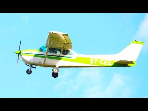 Engagement from Air. C 172 Wilson - Nanyuki, Kenya.