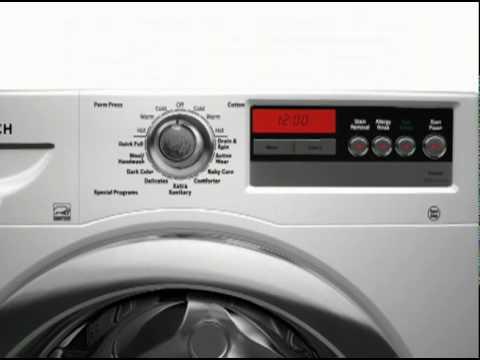 washing machine with tv