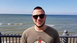 Приглашение Дениса Гладкого на День рождения Александра Новикова