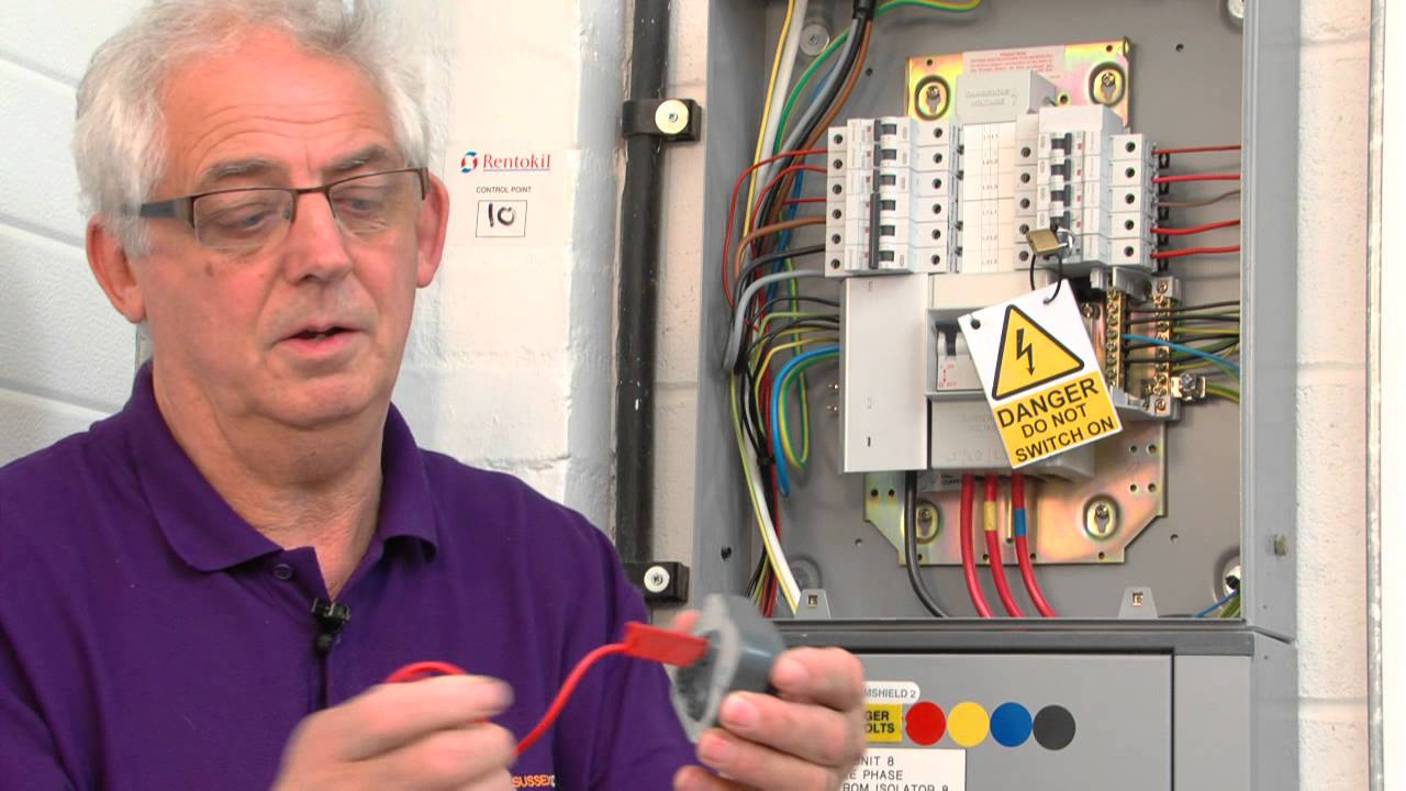 3 Phase Electric Panel Wiring Diagram Qr Code 3 R1 R2 Test Youtube