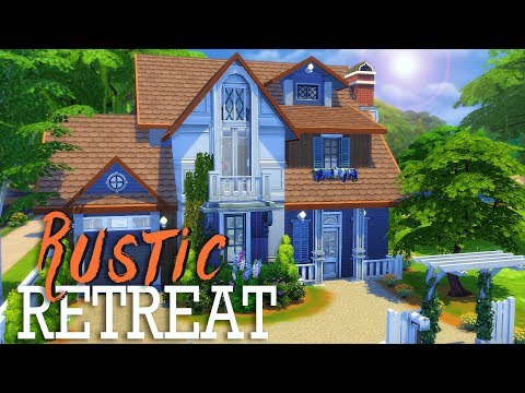RUSTIC RETREAT | Sims 4 House Building