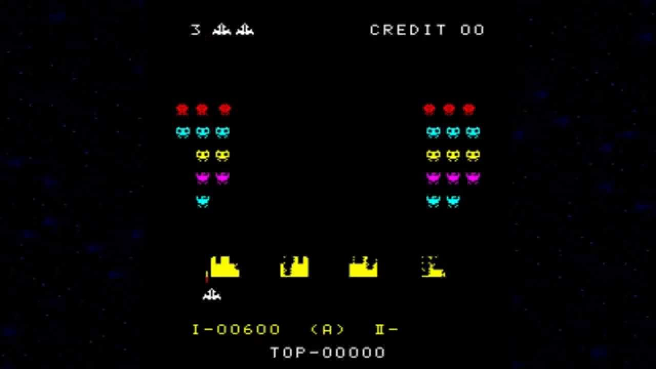 Electric Wallpaper 3d Space Invader 1978 79 Mame Retro Arcade Games Youtube